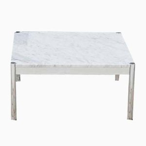 Vintage Carrara Marble Coffee Table from USM Haller