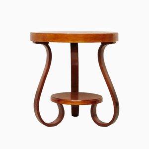 Tavolino rotondo in ciliegio, Italia, anni '30
