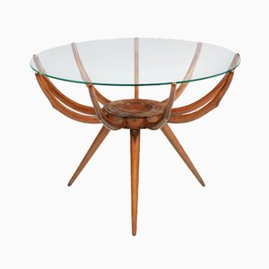 Vintage Spider Leg Coffee Table by Carlo de Carli, 1951