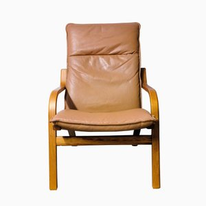Vintage Danish Lounge Chair from Stouby, 1970s