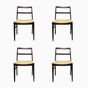 Chaises de Salon 430 Mid-Century en Palissandre de Rio par Arne Vodder pour Sibast, 1960s, Set de 4