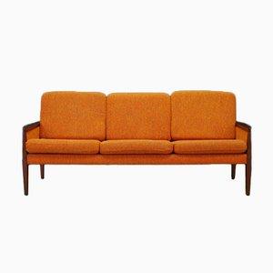 Canapé Vintage en Placage d'Acajou