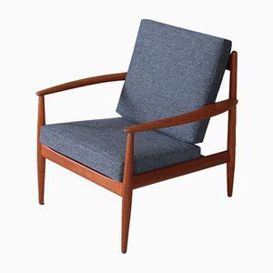 Vintage Stuhl aus Teakholz von Grete Jalk für France & Daverkosen