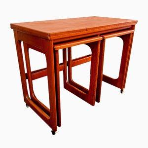 Tables Gigognes Ajustables de McIntosh, 1970s