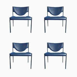 Serie 206 Stühle von Team Form Ag für Lübke, 1964, 4er Set
