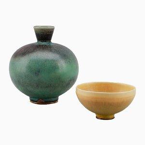 Vase & Petit Pot par Berndt Friberg, 1976