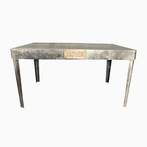 Mid-Century Tisch aus Eisen, 1950er
