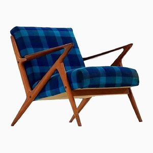 Mid-Century Z Lounge Chair by Poul Jensen for Selig