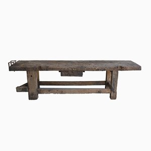 Antique Rustic Console