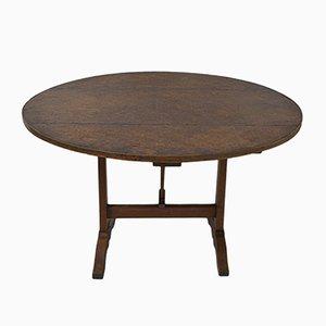 Antiker Französisch Weinproben Tisch