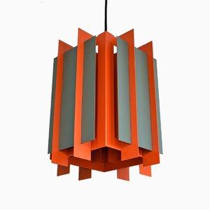 Lampada da soffitto Octagon di Bent Karlby per Lyfa, Danimarca, 1968