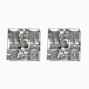 Wall Sconces by Max Sauze, 1970s, Set of 2