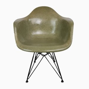 Mid-Century Rope Edge Chair in Seafoam Green by Charles & Ray Eames for Herman Miller