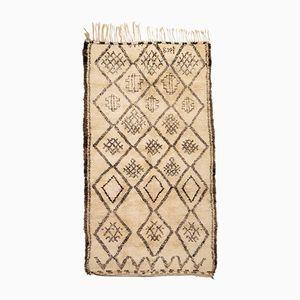 Vintage Moroccan Berber Carpet from Beni Ouarain, 1958