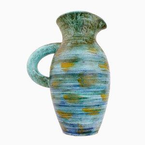 Jarrón francés de cerámica de Robert Dupanier, años 50
