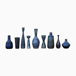 Collection of Vases by Carl-Harry Stålhane for Rörstrand, 1950s