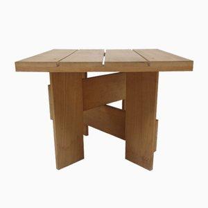 Tisch von Gerrit Thomas Rietveld für Cassina, 1970er