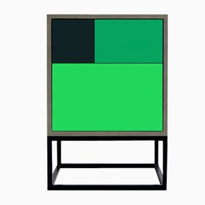 Tavolino Real verde di Studio Deusdara