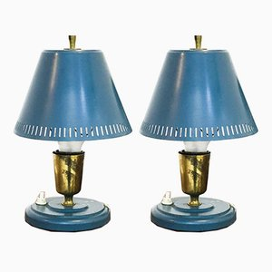 Swedish Table Lamps by Falkenbergs Belsyning, 1950s, Set of 2