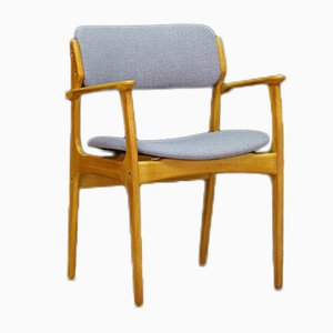 Vintage Teak Armchair by Erik Buch for O.D. Møbler