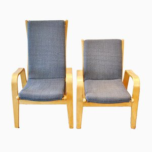 Lounge Chairs by Cees Braakman for Pastoe, 1950s, Set of 2