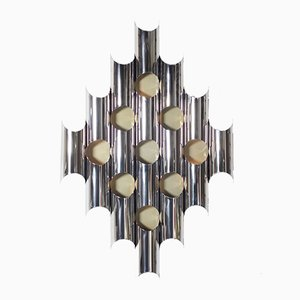 Large Italian Sculptural Wall Lamp by Goffredo Reggiani, 1970s