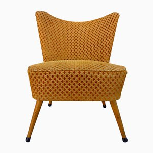 Saffron Rhombus Cocktail Chair, 1950s