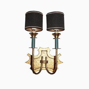 Italian Brass Applique, 1950s