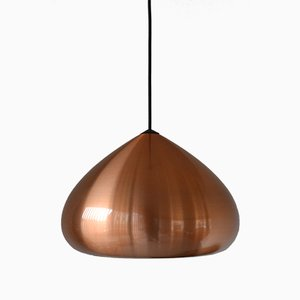 Copper Pendant by Jo Hammerborg for Fog & Mørup, 1950s