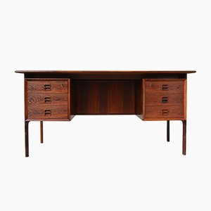 Rosewood Freestanding Desk by Arne Vodder for Sibast, 1950s