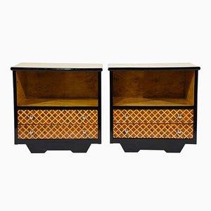 Tables de Chevet ou Tables d'Appoint Mid-Century Modernes, Set de 2