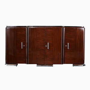 French Art Deco-style Macassar Wood Buffet