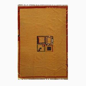 Handgefertigter nahöstlicher Vintage Gabbeh Kelim Teppich, 1970er
