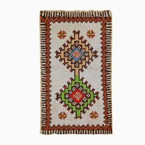 Alfombra marroquí beréber vintage hecha a mano, años 60