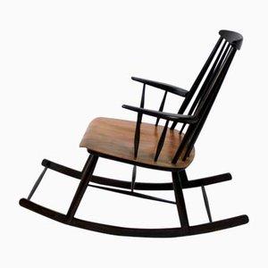 Sedia a donolo in stile scandinavo, anni '60