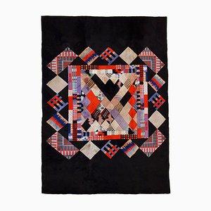 Tappeto Khaden vintage moderno tibetano fatto a mani, anni '80