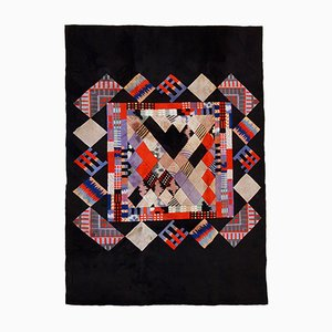 Vintage Handmade Tibetan Khaden Modern Rug, 1980s