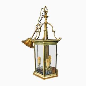 Mid-Century Italian Brass Wall Lamp