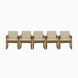 Dänische Esszimmerstühle aus Buchenholz von Magnus Olesen für Durup, 1960er, 5er Set