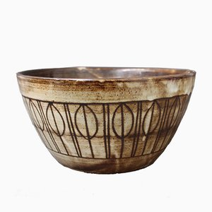 Mid-Century Decorative Bowl by Jacques Pouchain for Atelier Dieulefit
