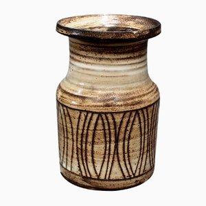 Vase en Céramique par Jacques Pouchain pour Atelier Dieulefit, 1960s