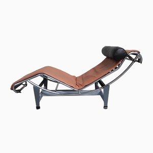 Chaise Longue LC4 Vintage par Le Corbusier, Jeanneret & Perriand pour Cassina