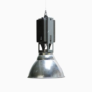 Large Mid-Century Industrial Pendant Light from 3F