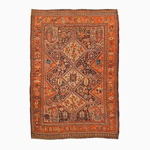 Antique Middle Eastern Geometric Rug