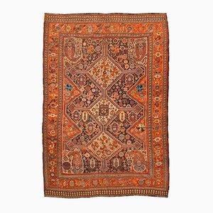 Antique Persian Geometric Rug