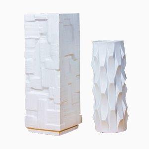 Vases en Porcelaine de Bisque, Allemagne, 1960s, Set de 2