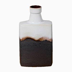 Vintage Keramik Block Vase, 1970er