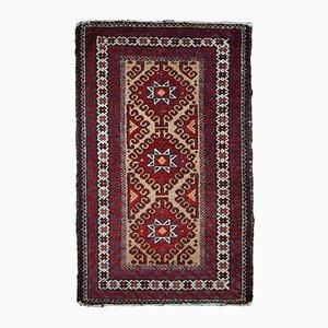 Vintage Handmade Afghan Rug, 1940s