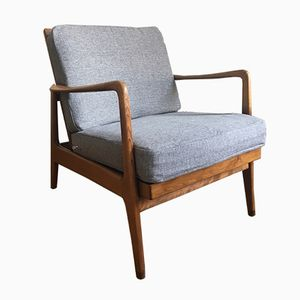 Mid-Century Easy Lounge Chair by Ole Wanscher for France & Søn