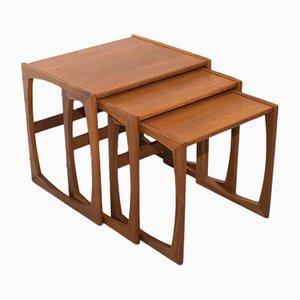 Tables Gigognes Quadrille de G-Plan, 1960s, Set de 3